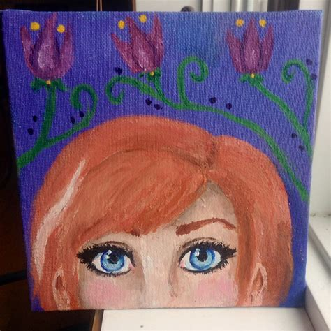 acrylic paint on canvas for sale frozen acrylic painting for sale by fumideecat on