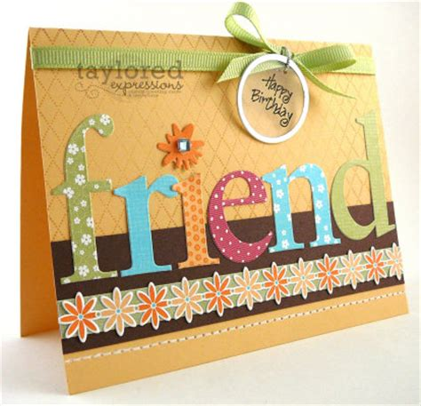 how to make friendship cards birthday cards ideas for friends