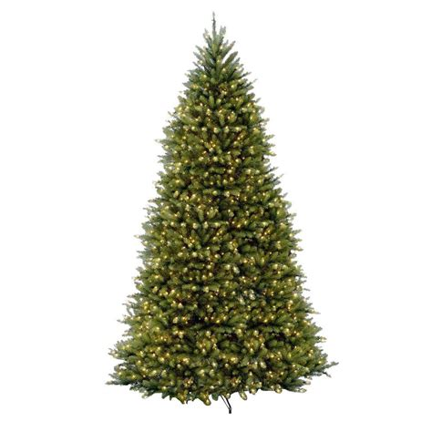 10 ft trees artificial national tree company 10 ft pre lit dunhill fir hinged
