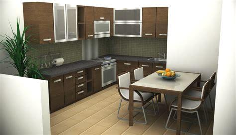 kitchen settings design desain lengkap model rumah minimalis type 45 terbaru