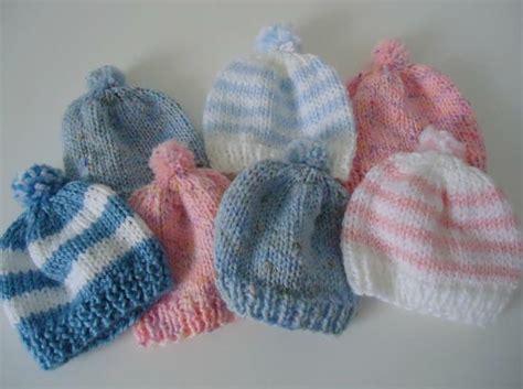 knit newborn hat pom pom newborn hat allfreeknitting