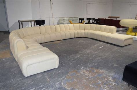 big sectional sofa wonderful large sectional sofa in the manner of desede at