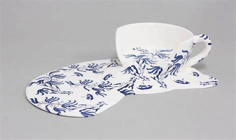 melting patterns melting porcelain by livia marin