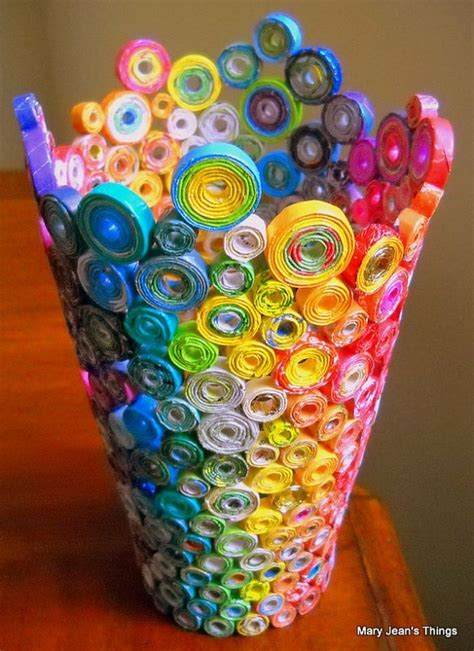 recycled magazine crafts for the of up cycling recycled magazine crafts ideas to