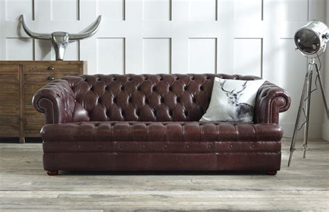 leather chesterfield sofas baron brown leather chesterfield chesterfield company