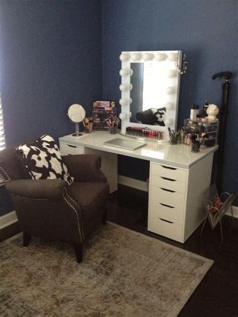 makeup vanities for bedrooms with lights vanity makeup set with lights table and for bedroom