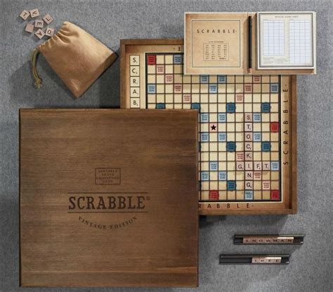 limited edition scrabble vintage edition scrabble board hiconsumption