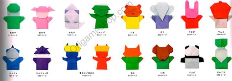 origami puppets origami finger puppets