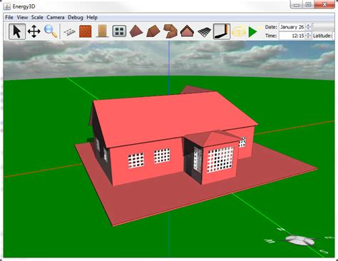 how to design your own home design your own house with energy3d the concord consortium