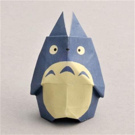 origami totoro japanese origami 折り紙 punipunijapan