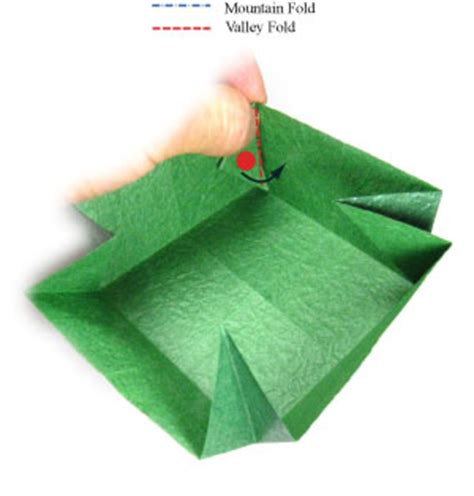 large origami box how to make a large square origami box page 8