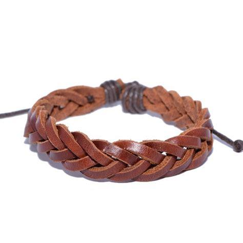 how to make leather jewelry 5 ways to make leather bracelets wikihow