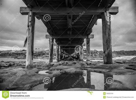 woodworking sydney wood bridge in b w stock images image 35353104