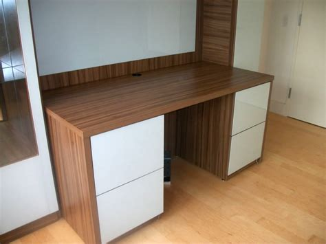 wall unit with desk custom desk with home office storage