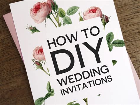 how to make wedding cards at home how to diy wedding invitations