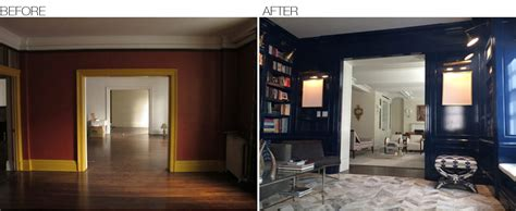 before and after a designer before after area interior design