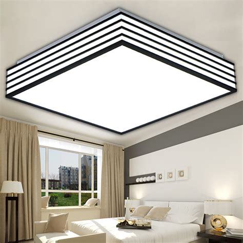 square led ceiling lights square modern led ceiling lights living laras de techo