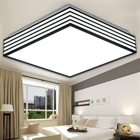 led light fixtures for kitchen square modern led ceiling lights living laras de techo