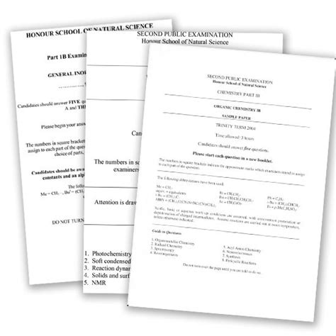 Past Exam Papers - Undergraduate Course A-test Paper