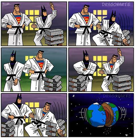 comic vs superman vs batman comics by dragonarte