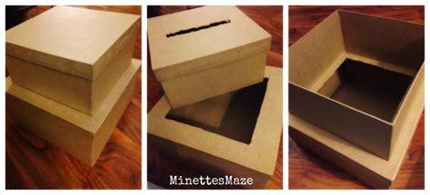 how to make a graduation card box diy chevron graduation card box with fiberoptic lights and