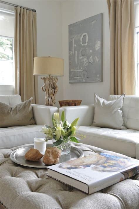 grey and white home decor linen sofas design ideas