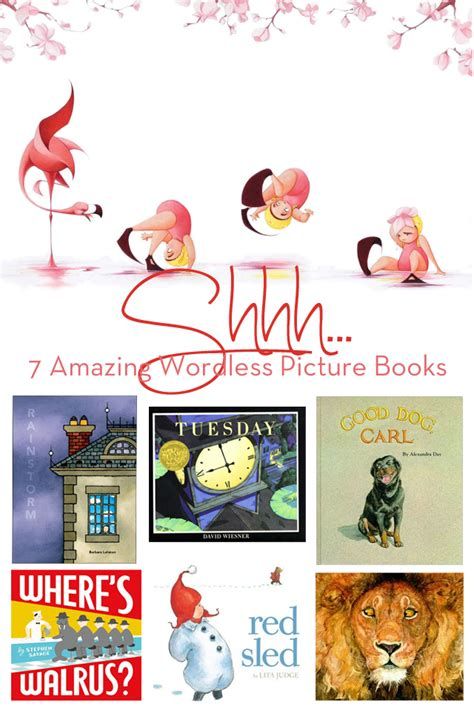 wordless picture books for children shhh 7 amazing wordless picture books modern parents