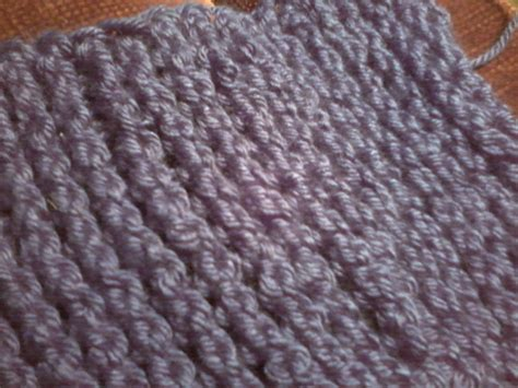 Tunisian Crochet Poses As Knitted Stockinette Stitch