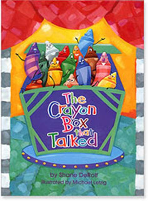 crayon picture book booktalking with thebookdragon the crayon box that talked