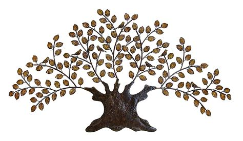 metal tree decorations tree of metal wall large decoration with branch