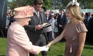 Garden Buffet Dress Code Couric Meets The At Buckingham Palace Garden