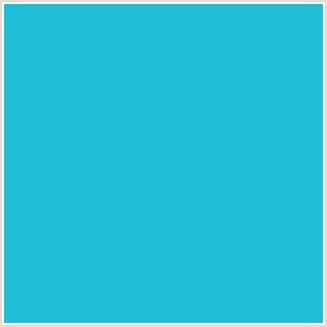 baby blue lights 1fbed6 hex color rgb 31 190 214 java light blue