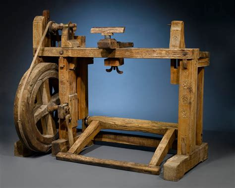 ancient woodworking antique woodworker s lathe at 1stdibs