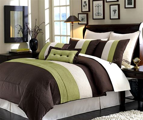 lime green and brown bedding sets brown and green bedding sets bedroom ideas pictures