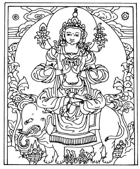 buddhist color meaning buddha coloring pages coloring home