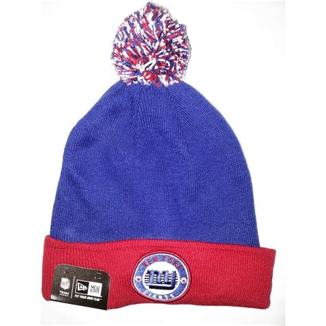 ny giants knit hat buy new era emea circle knit new york giants bobble hat