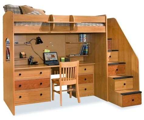 bunk bed with stairs and desk 24 designs of bunk beds with steps these