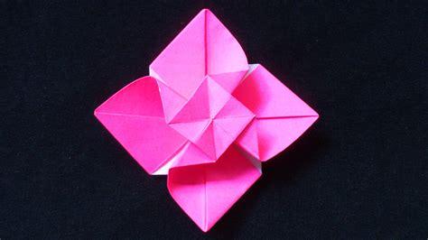 origami mawar cara membuat origami bunga mawar berputar origami bunga