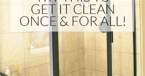 cleaning water stains glass shower doors how to clean shower doors with water stains best