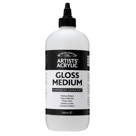 acrylic painting with gloss medium artists acrylic gloss medium ken bromley supplies