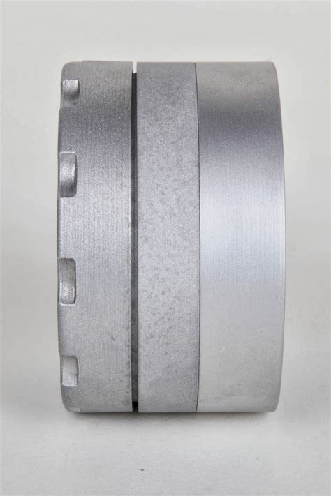 bead blasted aluminum the finished part blasting 6061 aluminum