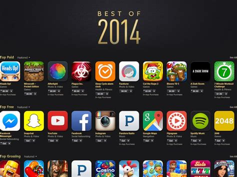 best app apple s best of 2014 free and paid apps abc news