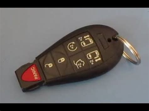Chrysler Town And Country Key Replacement by How To Replace Chrysler Town And Country Key Fob Battery