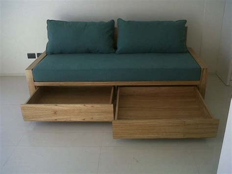 sofa cama con cajones sofa cama con cajones o carrito