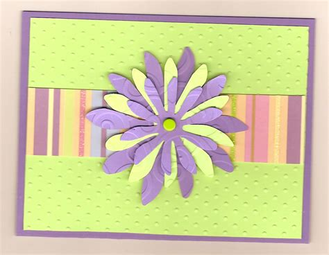 how to make flowers for cards flower handmade cards s cards ideas