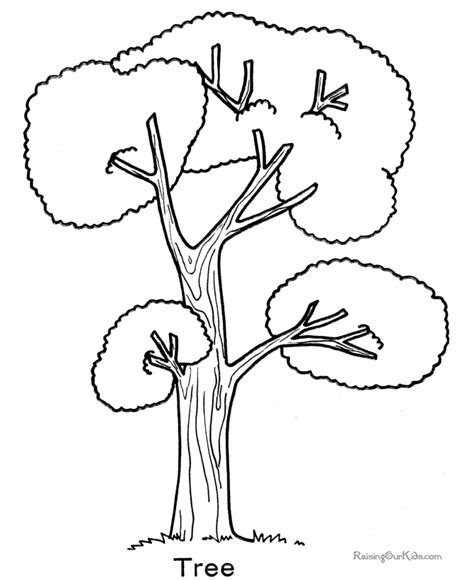 tree colouring in pages tree coloring pages az coloring pages