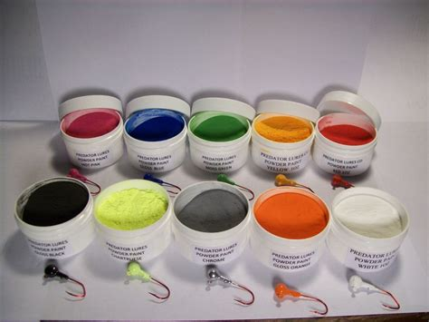 glow in the jig paint jig fishing lure 1 oz powder paint in 1 oz wide