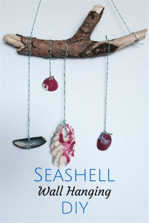 hanging craft projects seashell craft ideas wall hanging crafts on sea