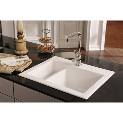 white ceramic kitchen sinks villeroy boch subway xm 620mm x 510mm 1 5 bowl white