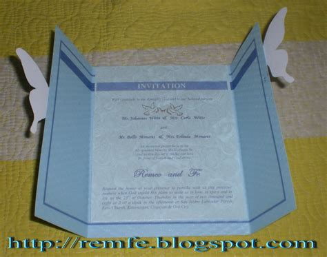 how to make invitation card my wedding invitation craft and fashion